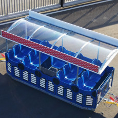 funtrain roof equipment